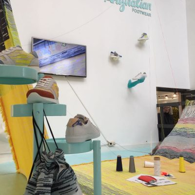Dutch Design Week 2016, Roos Soetekouw Australian Fotwear, bags, Shoes, throws, dish towels, towels, table runners